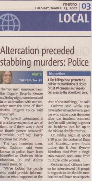 stabbing murder