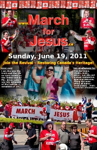March for Jesus 2011