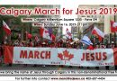 March for Jesus Calgary 2019!