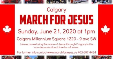 March for Jesus Calgary 2020!